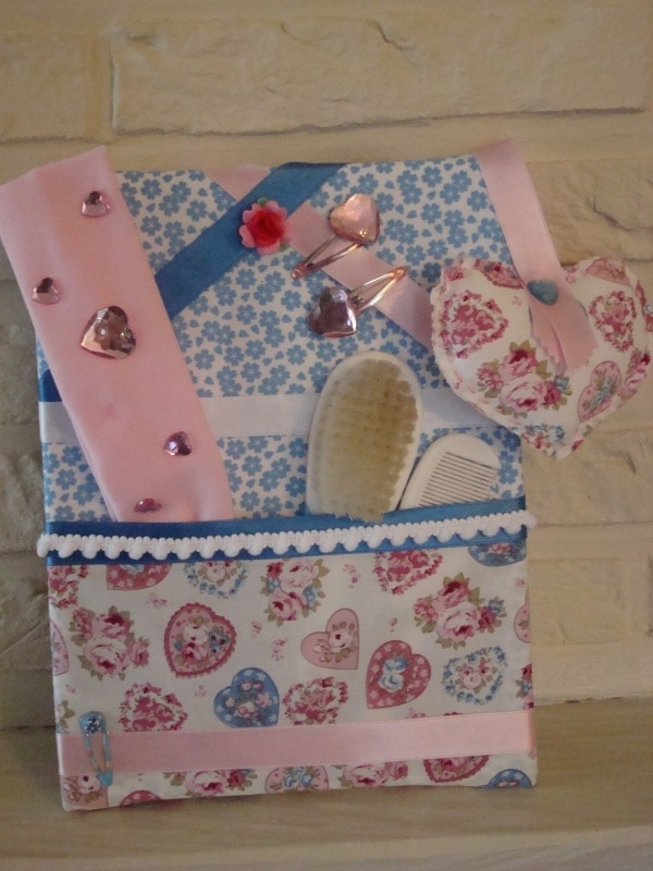 Haarknipjesbord Hearts & Flowers