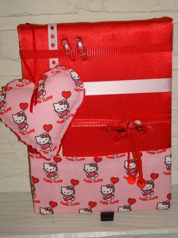 Haarknipjesbord Red Hello Kitty