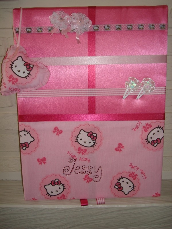 Haarknipjesbord Hello Kitty