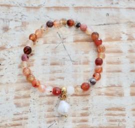 Watermelon Tourmaline bracelet   | Gipsy Ibiza  Armband