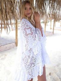 Lace beach boho Ibiza tuniek | Ibiza tuniek jurk