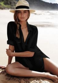 Black Boho  tuniek  | Ibiza tuniek jurk