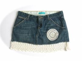 Ibiza jeans rokje| mt 40 / 42