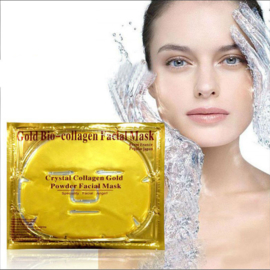 Crystal Gold Collageen Gezichtsmasker