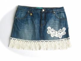 Ibiza jeans rokje | mt 40
