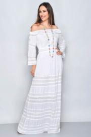 Santa Antoni  Ibiza  jurk  | Ibiza  dress white