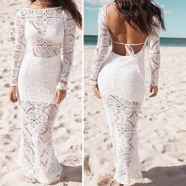 Bohemain lace dress | Ibiza tuniek jurk kant