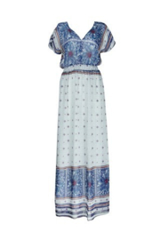 Bohemain Beach dress Blue | Ibiza tuniek jurk