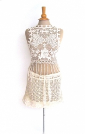 Ibiza rokje gehaakt    Crochet skirt