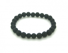 Black Lava Mountain | Ibiza Armband man
