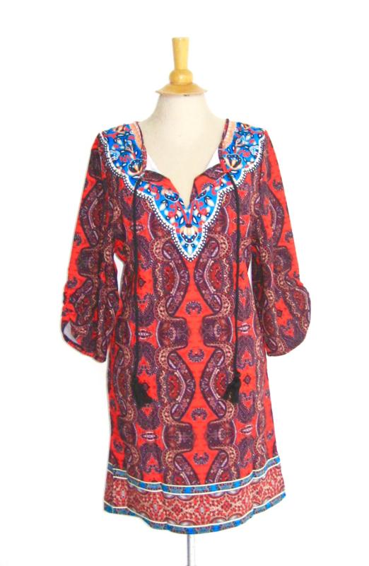 Boho hippie tuniek  tuniek    Ibiza tuniek jurk M