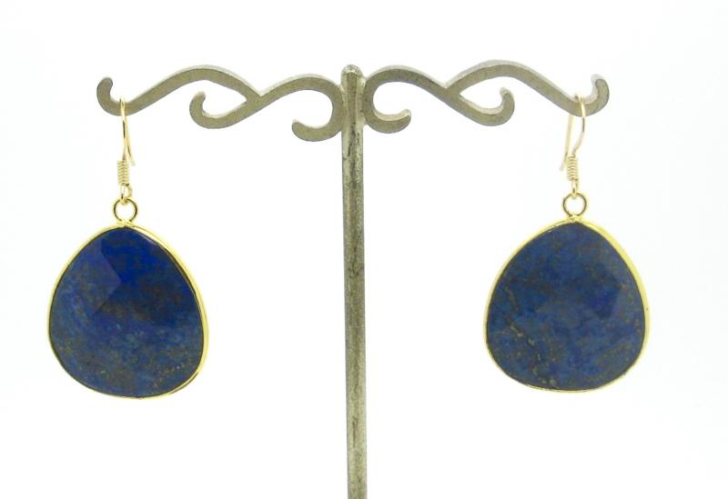 Lapis Lazuli   Gipsy Ibiza Oorbellen