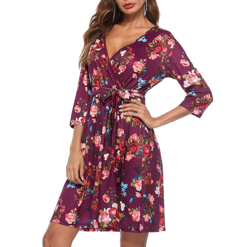 Bohemian flower  dress | Ibiza  jurk