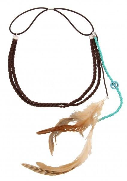 Hippie Ibiza Headband Blue   Ibiza Haarband