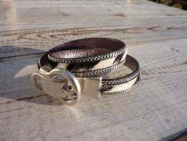 Essas armband zebra