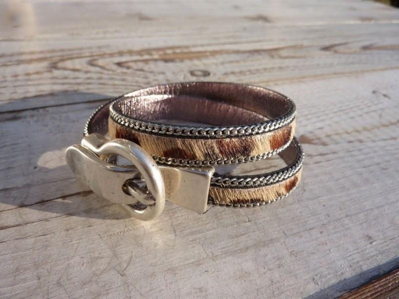 Essas armband luipaard