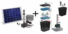 Solar-Aqua vijverfiltersysteem Siena-C LED
