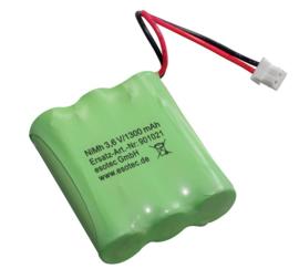 Solar accu/batterij 1300mAh