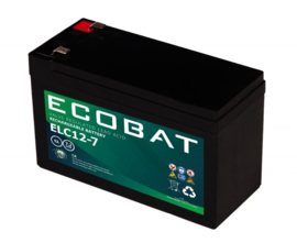 Solar accu Ecobat 12V.7Ah. deep-cycle