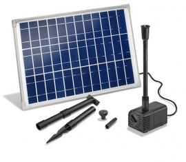 Vijverpomp zonne-energie Solar-Aqua Siena 1250