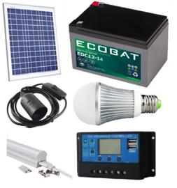 Solar verlichtingsysteem 50Wp profi