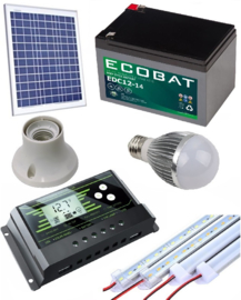 Solar verlichtingsysteem 30Wp