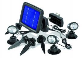 Solar spot trio