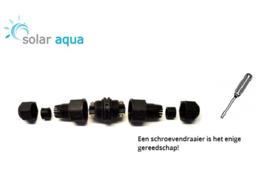 Waterdichte kabelverbinder 12V Con-Tensor