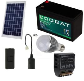 Solar verlichtingsysteem starterset 10Wp