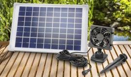 Kas ventilator op zonne-energie Fresh Air
