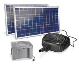 Solar beekloop pomp met accu Adria Top