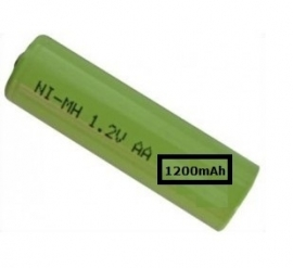 Solar accu/batterij 1200mAh