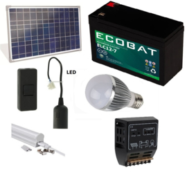 Solar verlichtingsysteem 20Wp