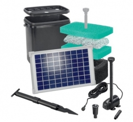 Vijverfilter zonne-energie starterset