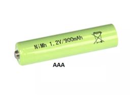 Solar accu/batterij 900mAh