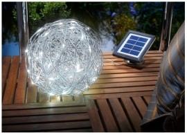Aluminium Wireball op zonne-energie