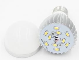 LED lamp 12V 5W. E27 2 stuks