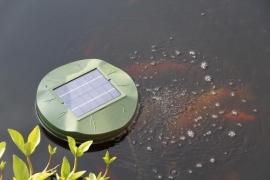 Vijverbeluchter op zonne-energie Air Lelie