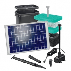 Solar-Aqua vijverfiltersysteem Water Splash