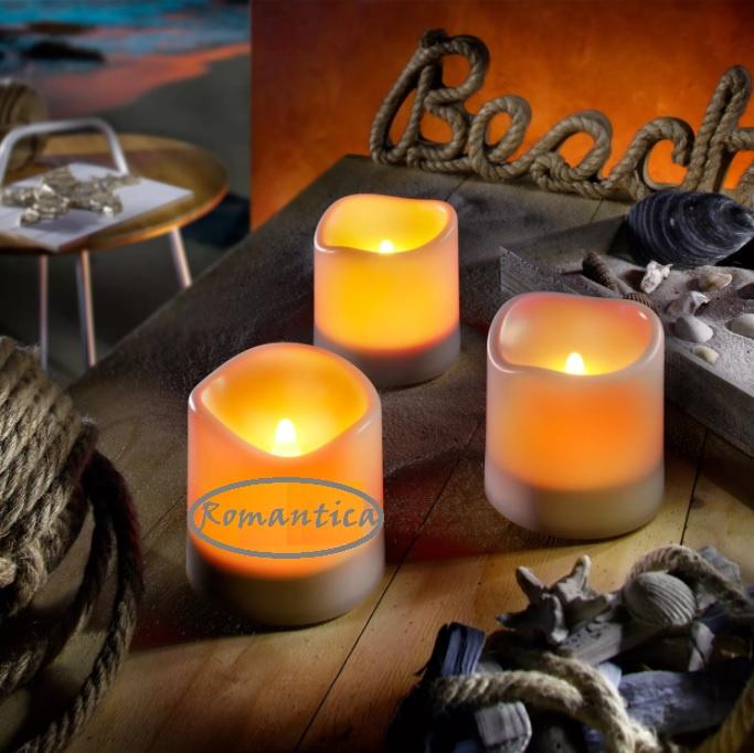 Kaarsen set zonne-energie Romantica