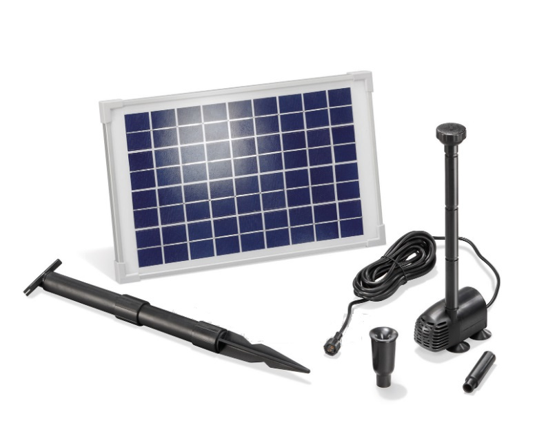 Vijverpomp zonne-energie Water Splash 610