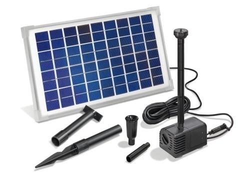 Vijverpomp zonne-energie Solar-Aqua Napoli 600