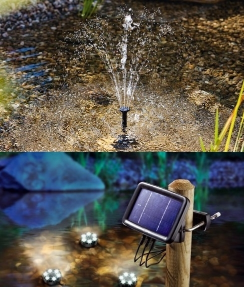 Combinatie aanbieding Water Splash 150  & Onderwaterspots