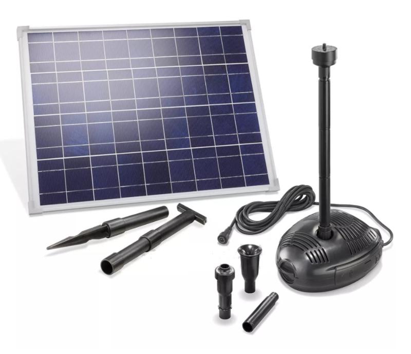 Fontein zonne-energie Solar-Aqua Genova 1700