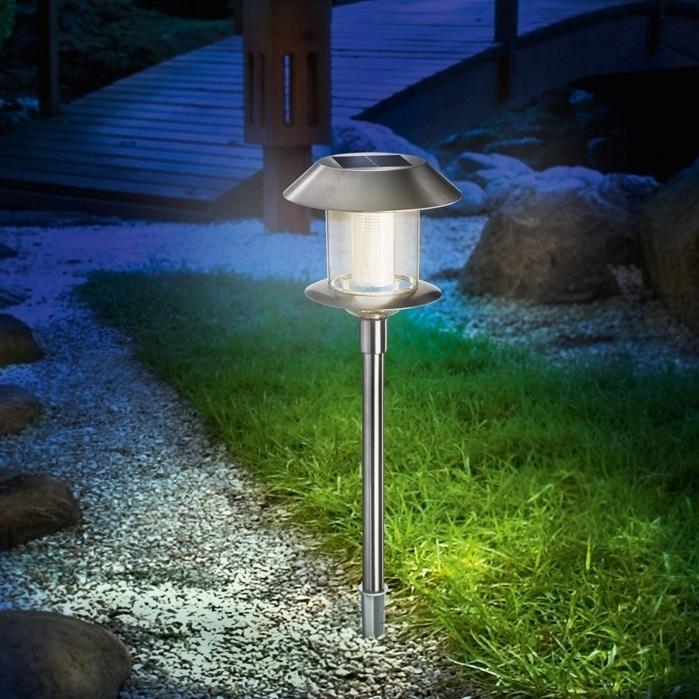 Lamp zonne-energie Swing duo color