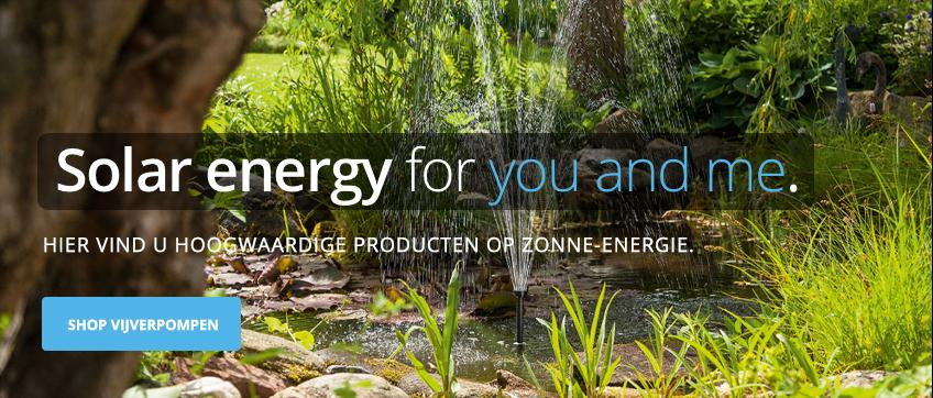 Vijver fontein pompen op zonne-energie Solar-Aqua
