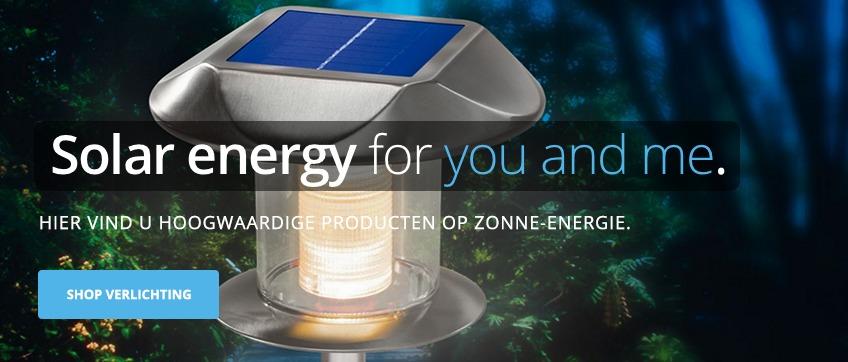 Lamp op zonne-energie