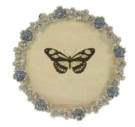 Fotolijstje Blauwe bloemen