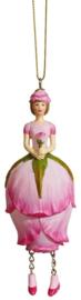 Bloemenmeisje Rozenknop roze