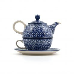 Theepot Bunzlau Castle Tea for one Indigo